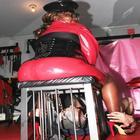 sitting on T box